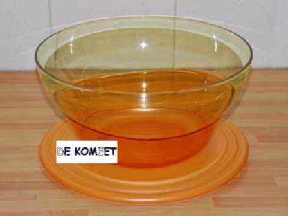 keukenschaal of fruitschaal oranje afbeelding